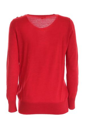 LIGHT YARN PULLOVER IN RED FAY | -1384759495 | NMWC1416330RDOR406