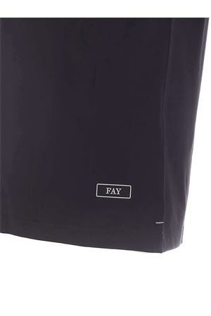 RUBBERIZED LOGO T-SHIRT IN BLACK FAY | 8 | NPMB3411360PKUB999