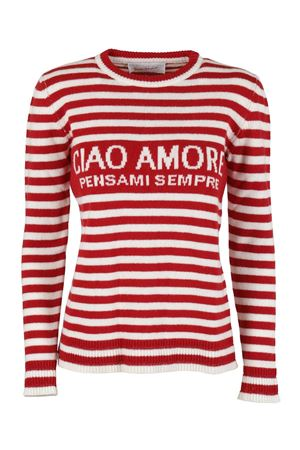 CIAO AMORE WOOL SWEATER IN RED GIADA BENINCASA | -1384759495 | F0501CWCW1