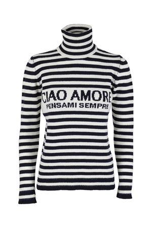 CIAO AMORE WOOL TURTLENECK IN WHITE GIADA BENINCASA | 7 | F0502CWCW2