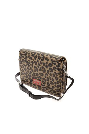 ANIMAL PRINT SHOULDER BAG GUM | 70000001 | BS7704LEOCOWBOY554