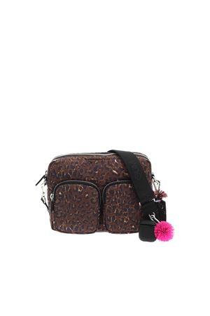 DOUBLE CAMERA ANIMAL PRINT SHOULDER BAG GUM | 70000001 | BSDOUBLECAMERABAGSTM10691