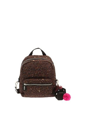 CAMERA BAG ANIMAL PRINT BACKPACK WITH CHARM GUM | 10000008 | ZNBACKPACKCAMBAGSTM10691
