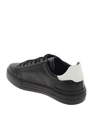 H86N LEATHER SNEAKERS IN BLACK HOGAN | 5032238 | HXM5260CW20KFM0002
