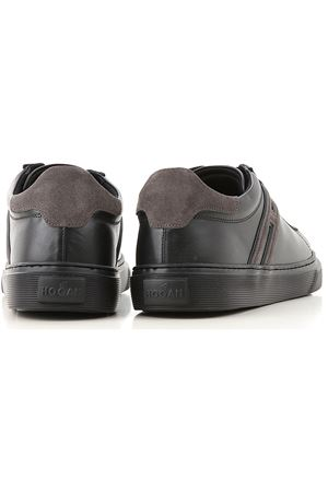 H365 SNEAKERS IN BLACK AND GRAY HOGAN | 120000001 | HXM3650J310IHV175E