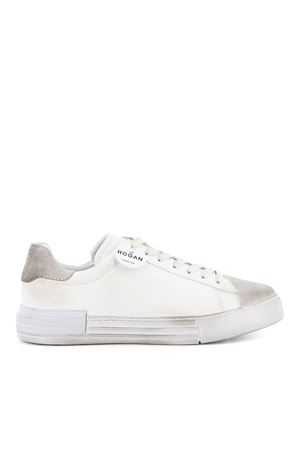 REBEL SNEAKERS IN WHITE
