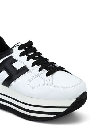 BLACK AND WHITE H283 SNEAKERS HOGAN | 120000001 | HXW2830T548HQK0001