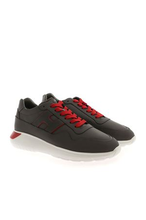 SNEAKERS INTERACTIVE3 GRIGIE E ROSSE HXM3710AM24OBR338E HOGAN | 120000001 | HXM3710AM24OBR338E