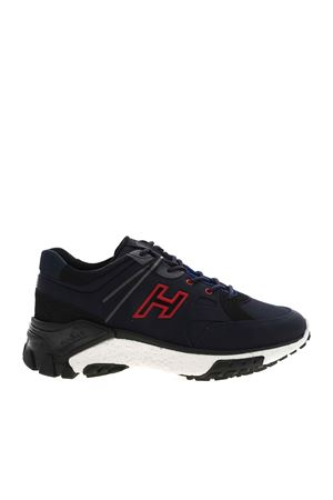 SNEAKERS URBAN TREK BLU E NERE HXM4770CA70OF9780Z HOGAN | 120000001 | HXM4770CA70OF9780Z