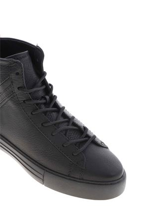 REBEL DERBY LISCIO SNEAKERS IN BLACK HOGAN | 120000001 | HXM5260CW12O3RB999