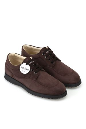SNEAKER ELEGANTI TRADITIONAL IN CAMOSCIO HXW00E00010CR0S807 HOGAN | 120000001 | HXW00E00010CR0S807