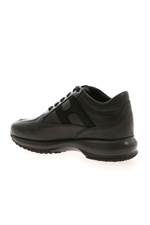 INTERACTIVE SNEAKERS IN BLACK HOGAN | 120000001 | HXW00N0DE30OG7B999