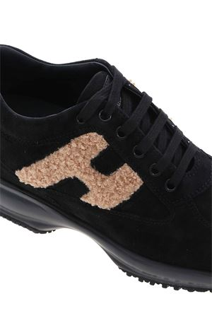 INTERACTIVE SNEAKERS IN BLACK HOGAN | 120000001 | HXW00N0S360OHA4Z89