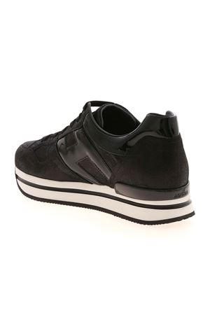 H222 SNEAKERS IN BLACK HOGAN | 120000001 | HXW2220T548O7AB999