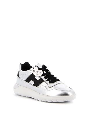 INTERACTIVE 3 SNEAKERS IN BLACK AND SILVER COLOR HOGAN | 5032238 | HXW3710AP20OXG0ZHC