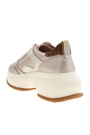 MAXI I ACTIVE SNEAKERS IN GOLD COLOR HOGAN | 120000001 | HXW4350BN51OTC3X95