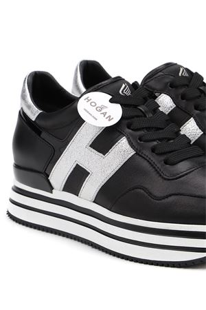 MIDI SNEAKERS IN BLACK HOGAN | 120000001 | HXW4830CB80OC60353
