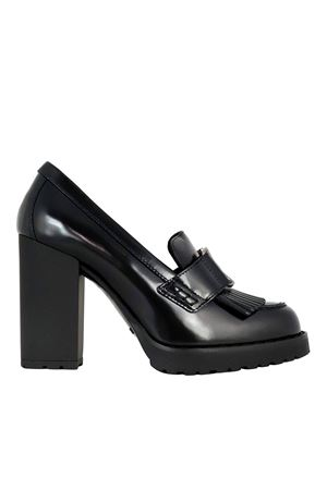 LOAFER STYLE PUMPS IN BLACK HOGAN | 5032240 | HXW5420DH401QAB999