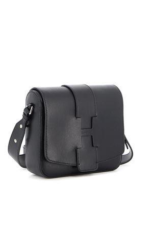 RAW-CUT H LEATHER BAG IN BLACK HOGAN | 70000001 | KBW01BI1200J60B999