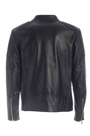 BIKER IN LEATHER BLACK HOGAN | 3 | KJM1241205PRQYB999