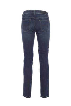 RUBBERIZED LOGO JEANS IN FADED BLUE HOGAN | 24 | KPM8241307LPACU820