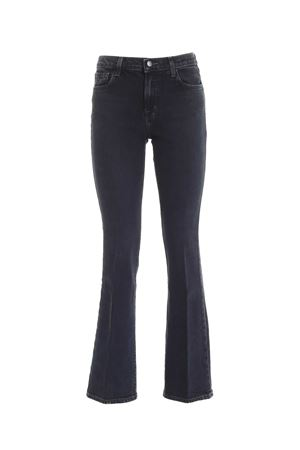 SALLIE MID-RISE BOOT JEANS IN BLUE