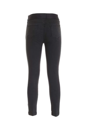 DELLAH HIGH-RISE SKINNY JEANS IN DARK GREY