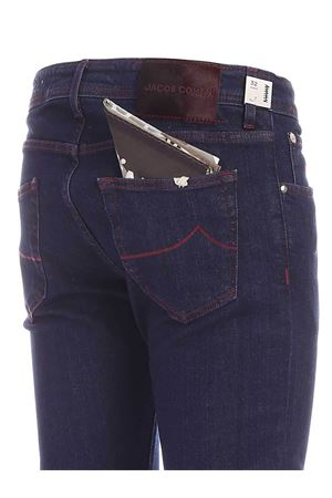 BURGUNDY LOGO JEANS IN BLUE JACOB COHEN | 24 | J622COMF00918W1GENJC001