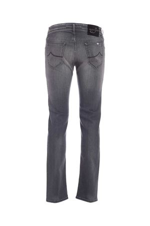 BLACK LOGO FADED JEANS IN GREY JACOB COHEN | 24 | J622COMF01578W2GENJC002