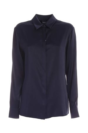 CAMICIA EXTRA IN SETA MAX MARA | 6 | 31160106600MM10090009