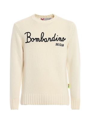 BOMBARDINO SKI CLUB PULLOVER IN WHITE MC2 SAINT BARTH | -1384759495 | BOMBARDINOEMSK10