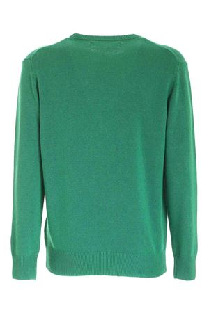 INLAY PULLOVER IN GREEN MC2 SAINT BARTH | -1384759495 | HERONINDE57