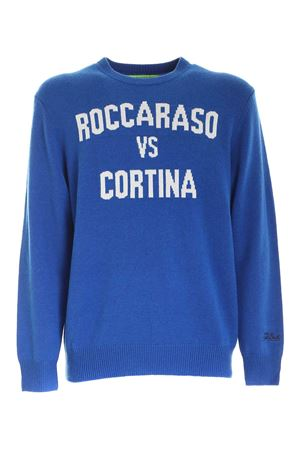 INLAY PULLOVER IN ELECTRIC BLUE MC2 SAINT BARTH | -1384759495 | HERONROCC17
