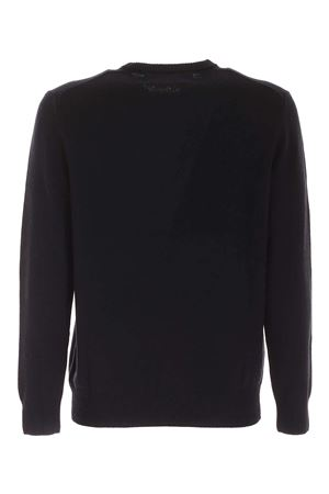 INLAY PULLOVER IN DARK BLUE MC2 SAINT BARTH | -1384759495 | HERONSNWI61