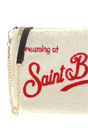 DREAMING OF SAINT BARTH CLUTCH BAG IN WHITE MC2 SAINT BARTH | 62 | PARISIENNEWSHRP14