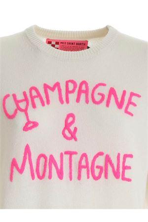 CHAMPAGNE & MONTAGNE EMBROIDERY PULLOVER MC2 SAINT BARTH | -1384759495 | QUEENEMCN10