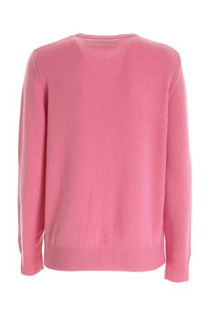 CHAMPAGNE & MONTAGNE EMBROIDERY PINK PULLOVER MC2 SAINT BARTH | -1384759495 | QUEENEMCN21