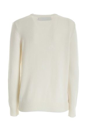 PULLOVER BIANCO CON RICAMO QUEENEMDS10 MC2 SAINT BARTH | -1384759495 | QUEENEMDS10
