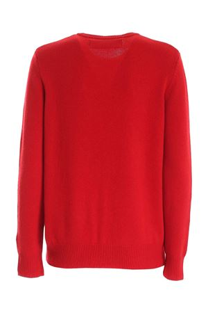 PULLOVER ROSSO RICAMO MERRY NOT MARRIED QUEENEMMM41 MC2 SAINT BARTH | -1384759495 | QUEENEMMM41