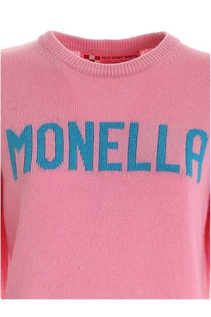 PULLOVER ROSA INTARSIO MONELLA QUEENMONE21 MC2 SAINT BARTH | -1384759495 | QUEENMONE21