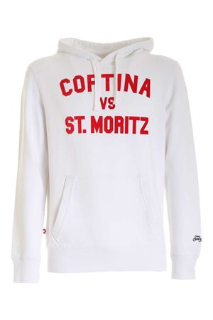 WHITE HOODIE MC2 SAINT BARTH | -108764232 | TRIBECACOMR01