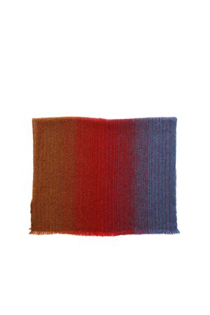 STOLE IN RED INDIGO AND CAMEL COLOR MISSONI | 61 | SA59VMD75880001