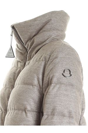 TORCON BEIGE DOWN JACKET WITH LAMÉ DETAILS MONCLER | 783955909 | 1B5420054APF220