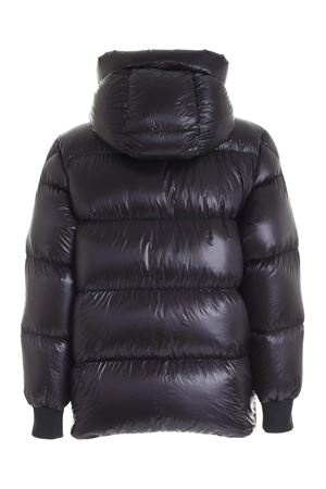LAMENTIN BLACK DOWN JACKET WITH HOOD MONCLER | 783955909 | 1B58300539WF999