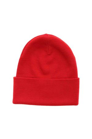 RIBBED BEANIE IN RED MONCLER | 26 | 3B1000009974455