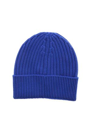 RIBBED BEANIE IN BLUE MONCLER | 26 | 3B7000004761731