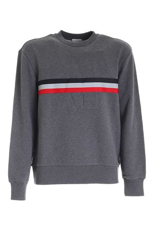 BRANDED BAND SWEATSHIRT IN GREY MONCLER | -108764232 | 8G7472080985940