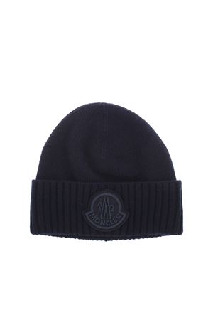 TRICOT BEANIE IN BLUE