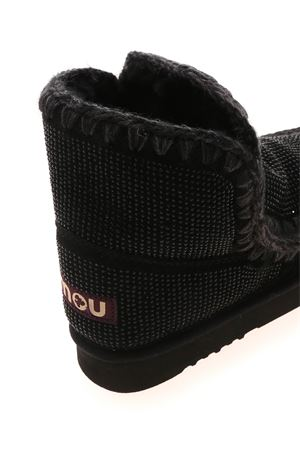 ESKIMO 18 FULL SNEAKERS IN BLACK