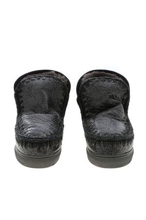 ESKIMO SNEAKERS IN GLITTERY BLACK MOU | 5032248 | 111008C3DCHA